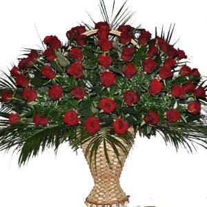 товар Живые похоронные цветы